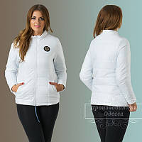 Куртка с водоотталкиваютим покрытием на синтепоне 44-56рр