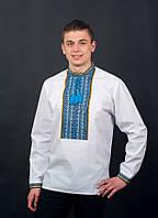 Чоловіча вишиванка з довгим рукавом