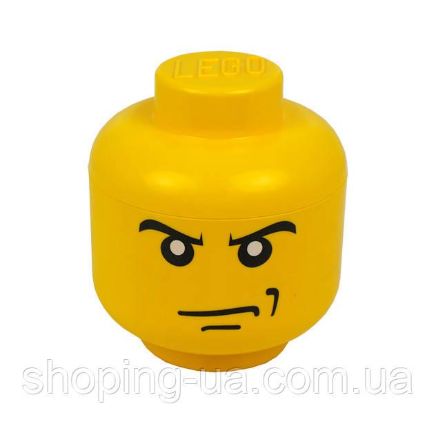 Ящик для хранения Lego Голова Злой Мальчика S PlastTeam 40310160