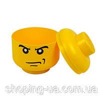 Ящик для хранения Lego Голова Злой Мальчика S PlastTeam 40310160, фото 2