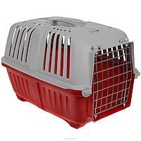 Переноска для кошек и собак Pratiko,55x36x36,RED, вес до 18 кг