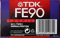 Аудио кассета TDK 90 FE