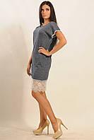 Элегантное женское платье | джинс (р.42-52)