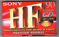 Аудио кассета SONY 90HF