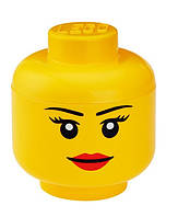 Ящик для хранения Lego Голова Девочка S PlastTeam 40311222, фото 1