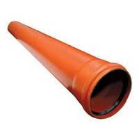 Труба с раструбом HTEM 110х1500 Magnaplast