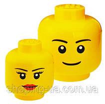 Ящик для хранения Lego Голова Девочка S PlastTeam 40311222, фото 3