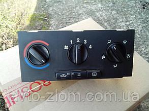 Блок управления печкой Opel Astra G, Опель Астра Г. 90559839, 52559839.
