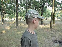 Бейсболка тактическая камуфляжная Мультикам, фото 3