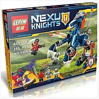 """Конструктор Lepin 14002 Nexo Knight  """"Ланс и его механический конь"""", 255 дет"""