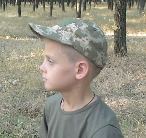 Бейсболка тактическая камуфляжная ПИКСЕЛЬ, фото 2