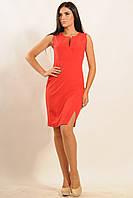 Элегантное платье с завышенной линией талии | красный (р.42-52)