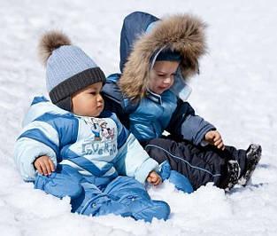 Зимние комбинезоны для новорожденных и детей до 1 года