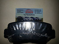 Тормозные колодки дисковые задние Korando C (пр-во MEYLE) 025 249 3415/W