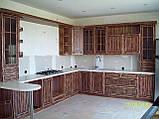 Мебель в кухню из натурального дерева на заказ, фото 5