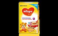 Молочная каша Milupa мультизлаковая с печеньем милупа, 210 г