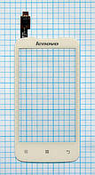 Тачскрин сенсорное стекло для Lenovo A376 white