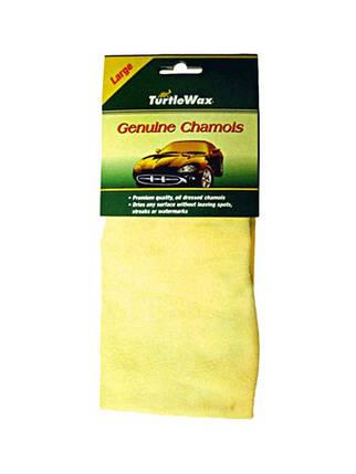 Синтетическая замша для протирки автомобиля Turtle Wax Synthetic Chamois (53х48см) T4061, фото 2