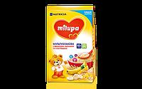 Молочная каша Milupa мультизлаковая с смесью фруктов милупа, 210 г,