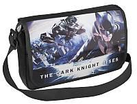 Молодежная сумка через плечо на каждый день Cool for school BN07801 черный/печать