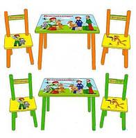 Детский столик со стульчиками «Простоквашино» Bambi M 1434