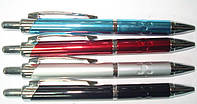 """Ручка шариковая автоматическая металлическая BP2003 MIX 4шт. """"Baixin"""""""