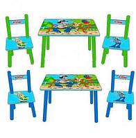 Детский столик со стульчиками «Ну, Погоди!» Bambi M 1433