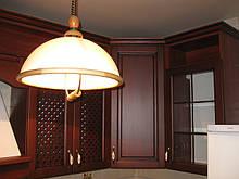 Кухня из дерева с патиной  под заказ