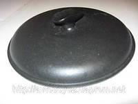 Чугунная крышка с матовой эмалью диаметром 230 мм