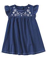 Детское трикотажное платье.  4 года