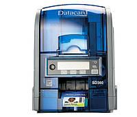 Принтер для пластиковых карт Datacard SD360 +MAG ISO сублимацыонный двусторонний