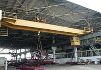 Кран мостовой электрический двухбалочный  г/п 50/20 т.