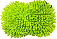 Губка-мочалка для мойки автомобиля из микрофибры