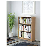 IKEA БИЛЛИ Стеллаж, дубовый шпон : 20265278, 202.652.78
