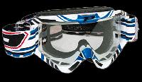 Мотоочки PROGRIP Маска / очки кроссовые Голубого цвета Progrip 3450/16 Topline с линзами 3298