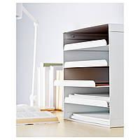IKEA КВИССЛЕ Лоток для корреспонденции, белый : 70198031, 701.980.31