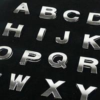 Буква 3D наклейка на капот/багажник