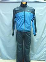 Костюм спортивный Adidas  мужской т. синий с синим 2433