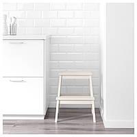 IKEA БЕКВЭМ Табурет-лестница из массива березы : 40178888, 401.788.88