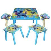 Детский столик со стульчиками «Лило и Ститч» Bambi C 10011