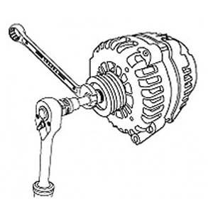 Набор для снятия шкивов генераторов 13ед. TOPTUL JGAI1301, фото 2