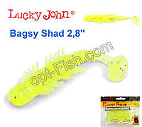 Виброхвост 2,8 Bagsy Shad LUCKY JOHN*7 140107-071