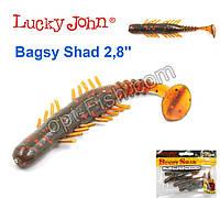Виброхвост 2,8 Bagsy Shad LUCKY JOHN*7 140107-085
