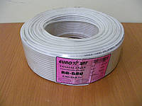 Медный коаксиальный кабель RG-58U, 50 Ом (белый)