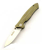 Складной нож из рукоятью Mikarta + клипса для ремня, мощный и практичный, выкидные, походные ножи, рыбацкие