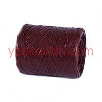 Рафия PLASTIFLORA 200м - Темно-бордовая
