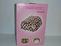 Лампа для сушки ногтей , УФ лампа 2в 1 Diamond, для наращивания ногтей и гель-лака, гибрид