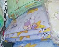 Защита для детской кроватки Фиолетовые мишки