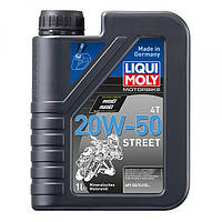 Масло для 4-тактных двигателей - Motorbike 4T 20W-50 Street 1 л.