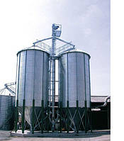 Силосные зернохранилища с конусным дном, фото 1